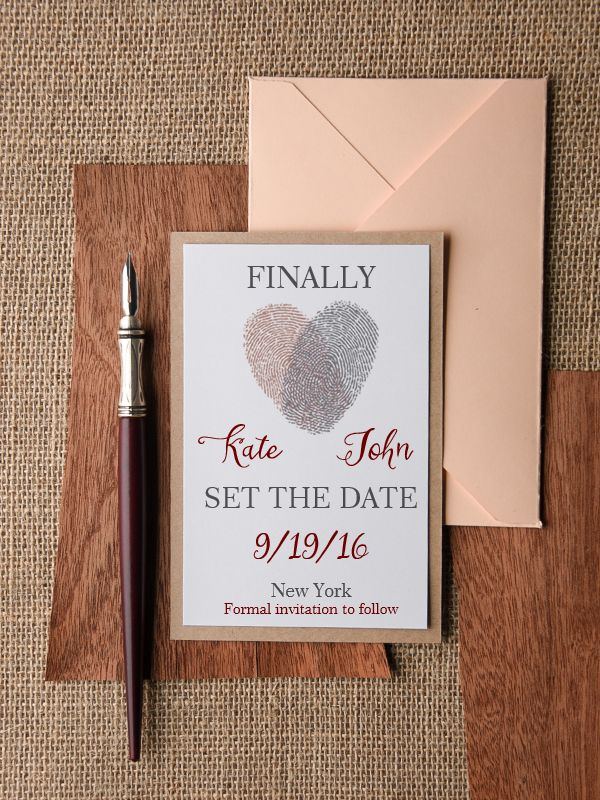 12 Gorge Save the Date Cards from Irish Suppliers Weddingideas