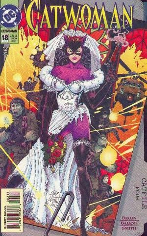 Cover for Catwoman #18 (1995)