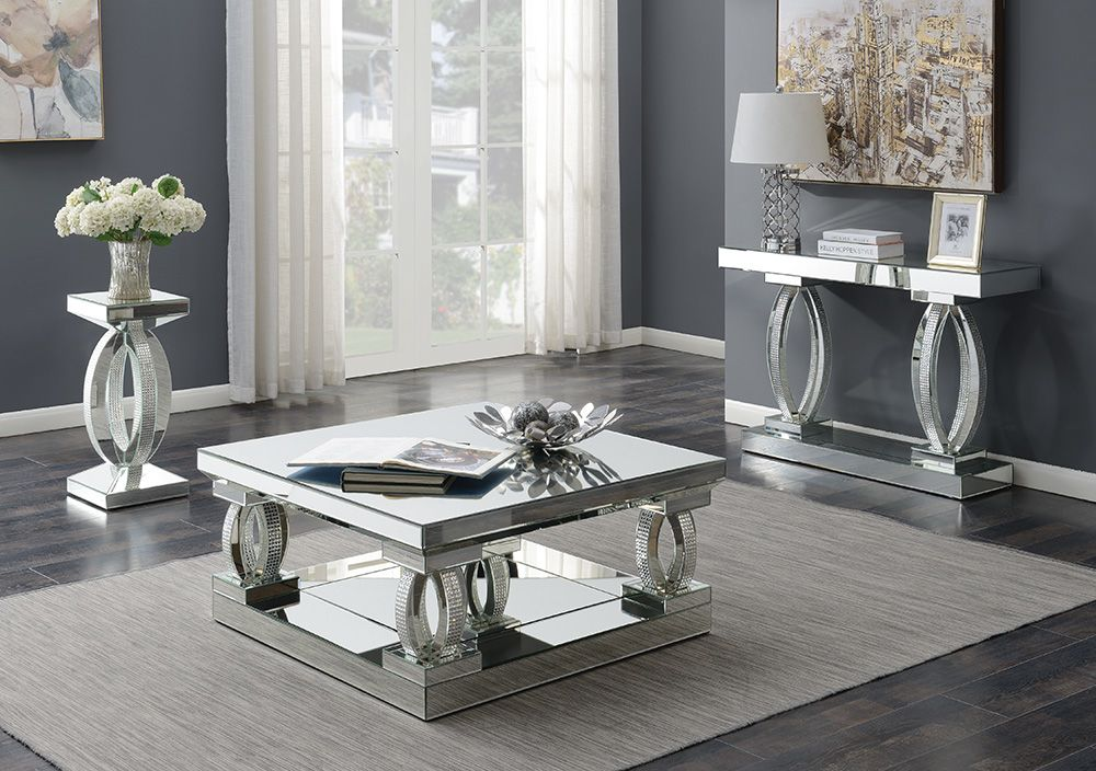 Cs518 Coffee Table In 2020 Mirrored Coffee Tables Living Room