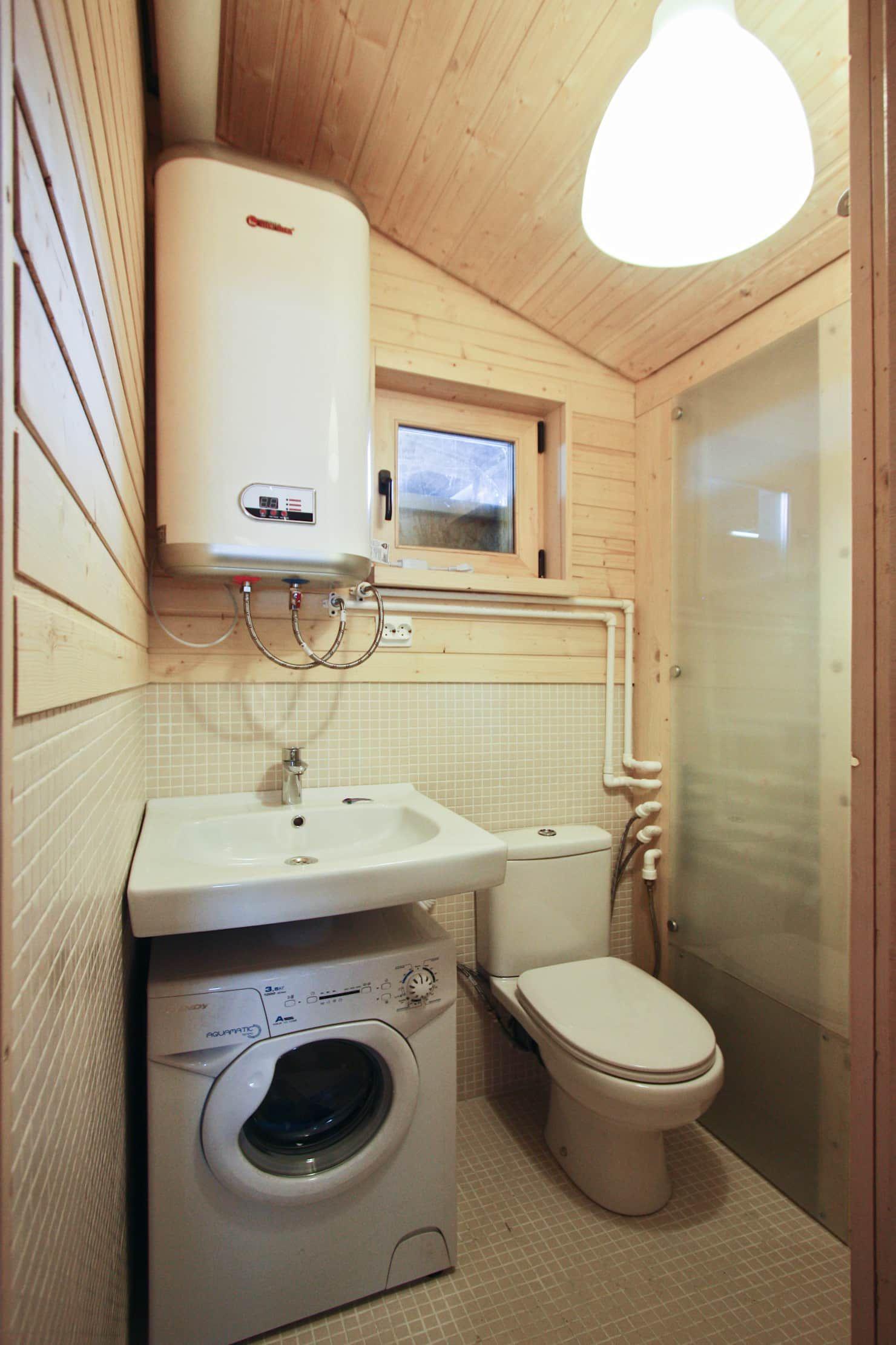 Küchenideen für wohnmobile skandinavische badezimmer von bio  architectural bureau of ivan