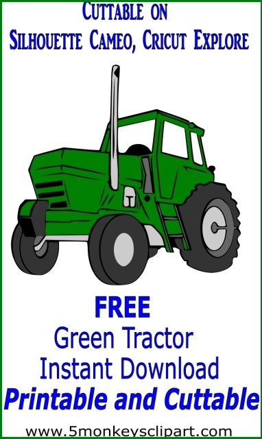 Free John Deere Tractor Cut File And Clipart John Deere