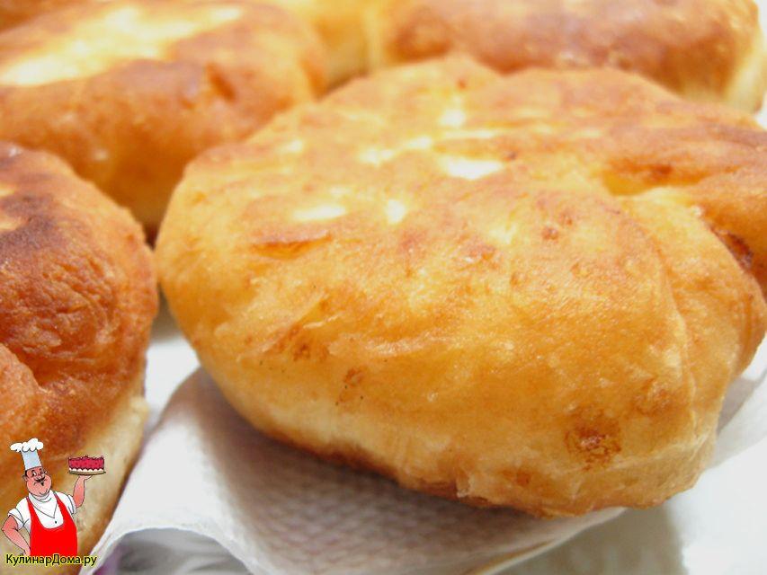 Тесто для пирожков на кефире и дрожжах