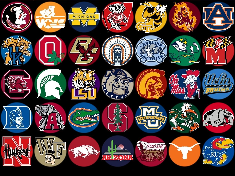 College Sports Logos College Football Logos College Football Teams Football Wallpaper
