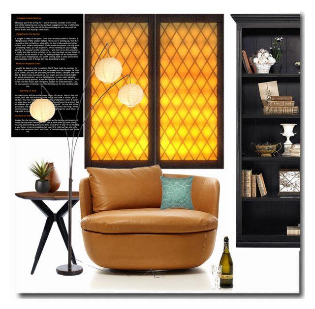 """Orange tones"" by budding-designer ❤ liked on Polyvore featuring interior, interiors, interior design, home, home decor, interior decorating, Ballard Designs, Kate Spade, Moooi and Villa Home Collection"