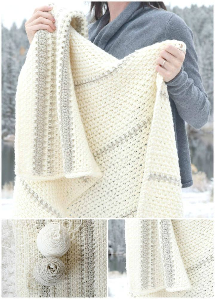 Crochet Afghan Patterns - 41 Free Patterns for Beginners | Cute ...