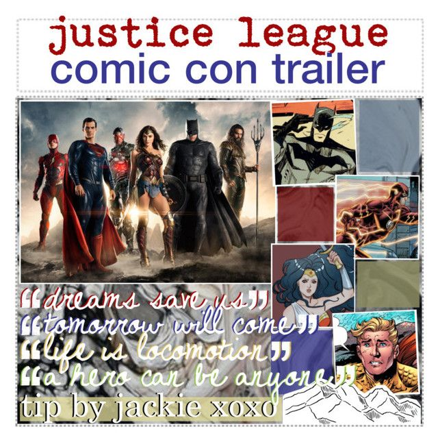 ; justice league trailer by jackie Justice league