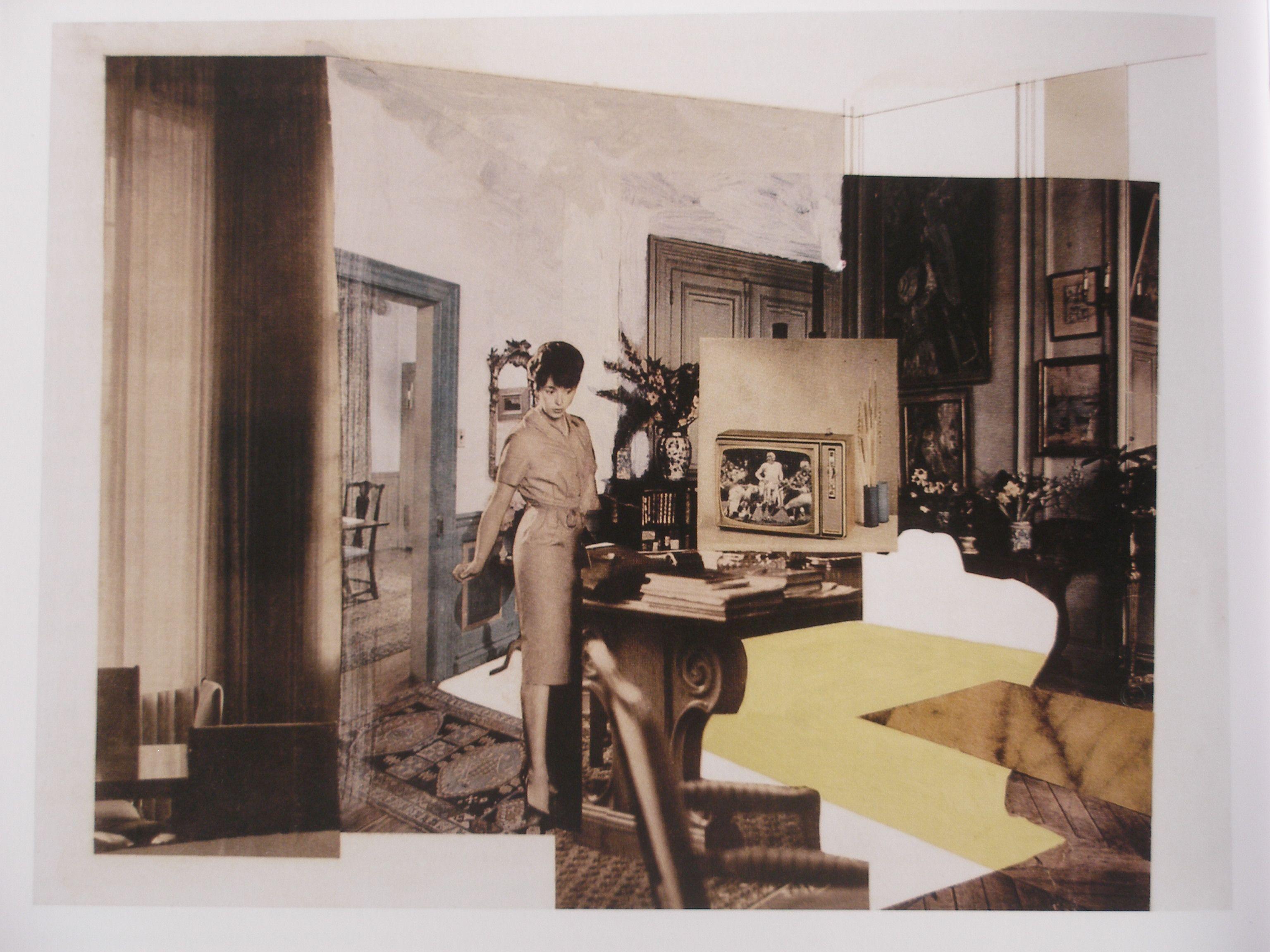Richard Hamilton, Interior study, 1964 | Canvases | Pinterest | Collage
