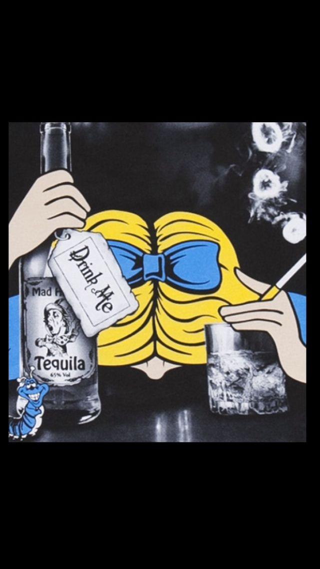 Alice in wonderland drunk-9293