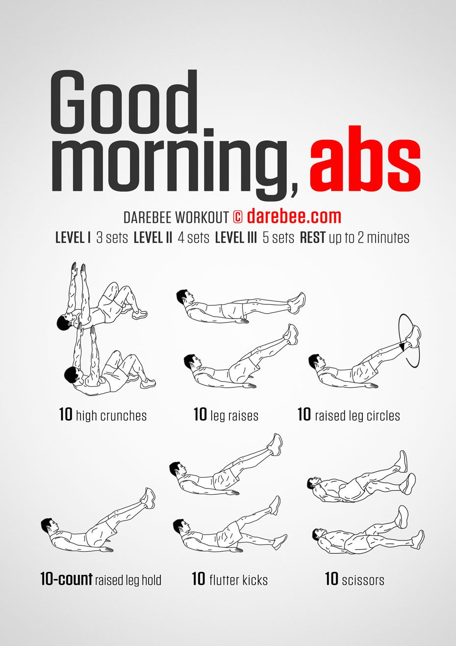 The best morning exercises