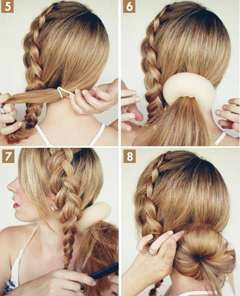 Tutorial Amazing Hairstyle For Long Hair Diyourselfie Hair Styles Donut Bun Hairstyles Long Hair Styles