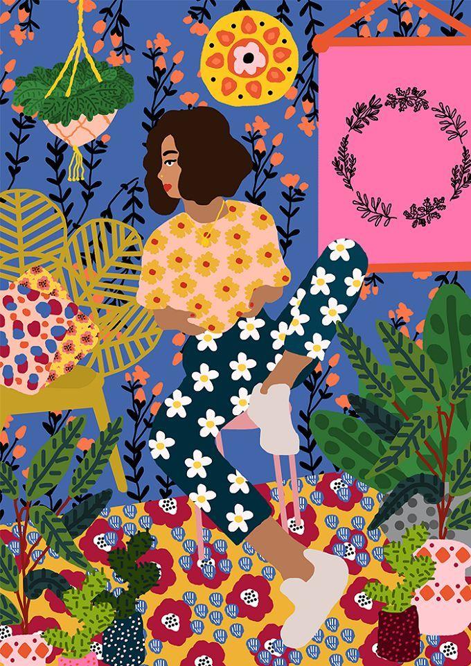 Colorful Illustrations by Studio Grand-Père