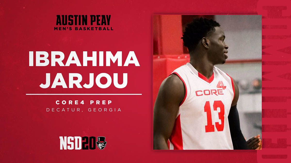 Apsu Men S Basketball Adds Ibrahima Jarjou To Roster Clarksville Tn Online In 2020 Mens Basketball Austin Peay State University Basketball