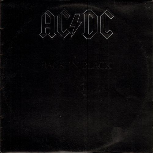 Ac Dc Back In Black Lp Us Pop Catastrophe Co Uk Rock