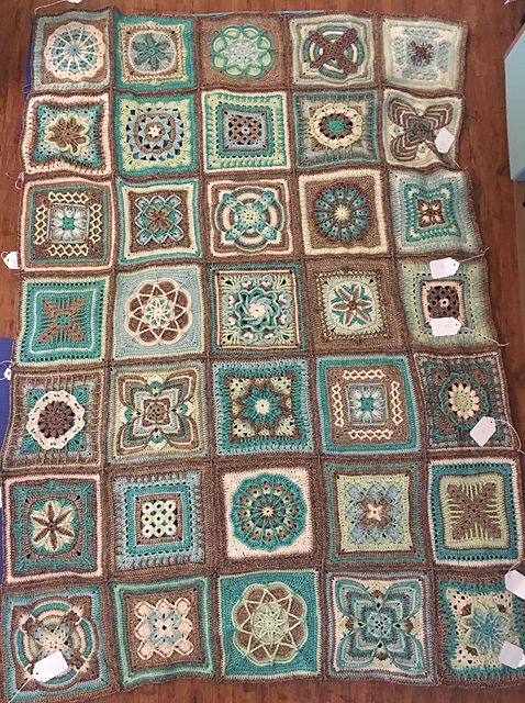 Ravelry: Project Gallery for Nuts about Squares CAL ...