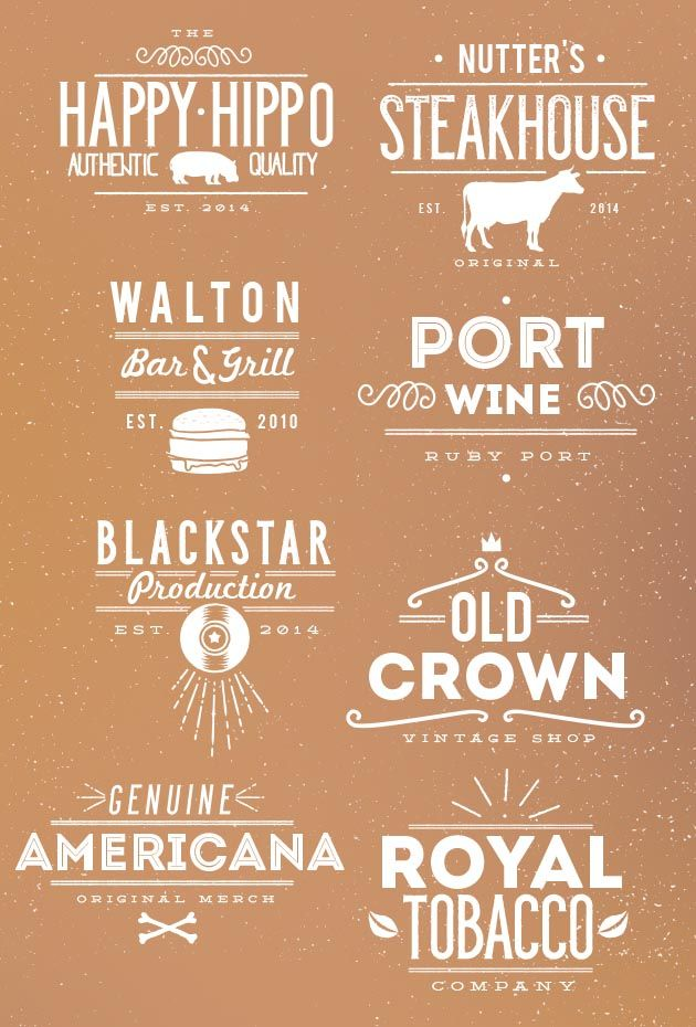 Huge set of 70 Typographic Templates and 10 Fonts - 87% off.These typography templates are so beautiful, but in the same time so insanely simple, that you'll wonder why you didn't think about this before.And that's for the templates alone. Don't forget that on top of that, you'll get 10 handcrafted fonts together with their original .Ai files. And believe me, there are a huge amount of files on this bundle.And all that for the incredible price on only $39 Now think about how much you would…