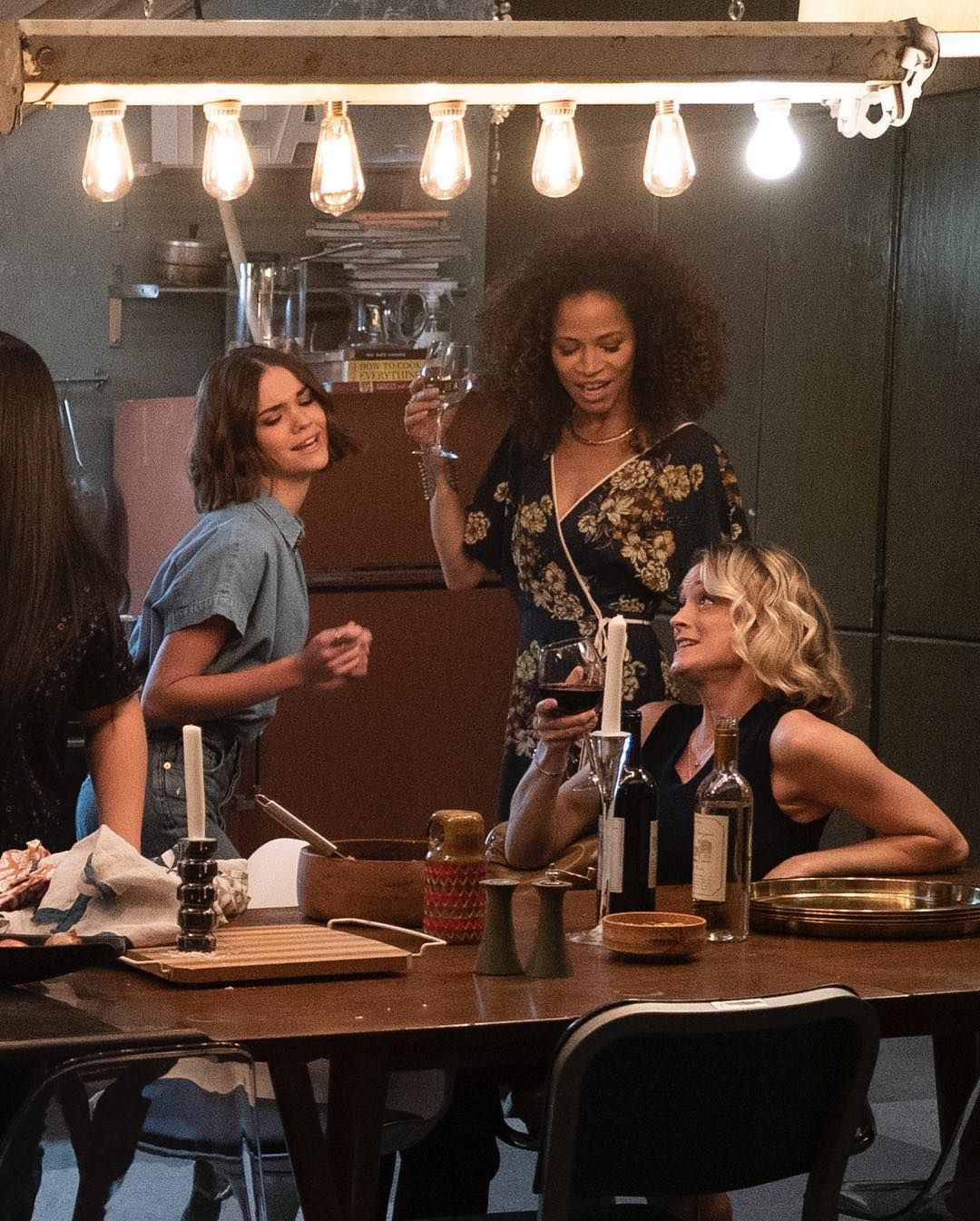 The Fosters On Instagram Dancing Around The Dinner Table