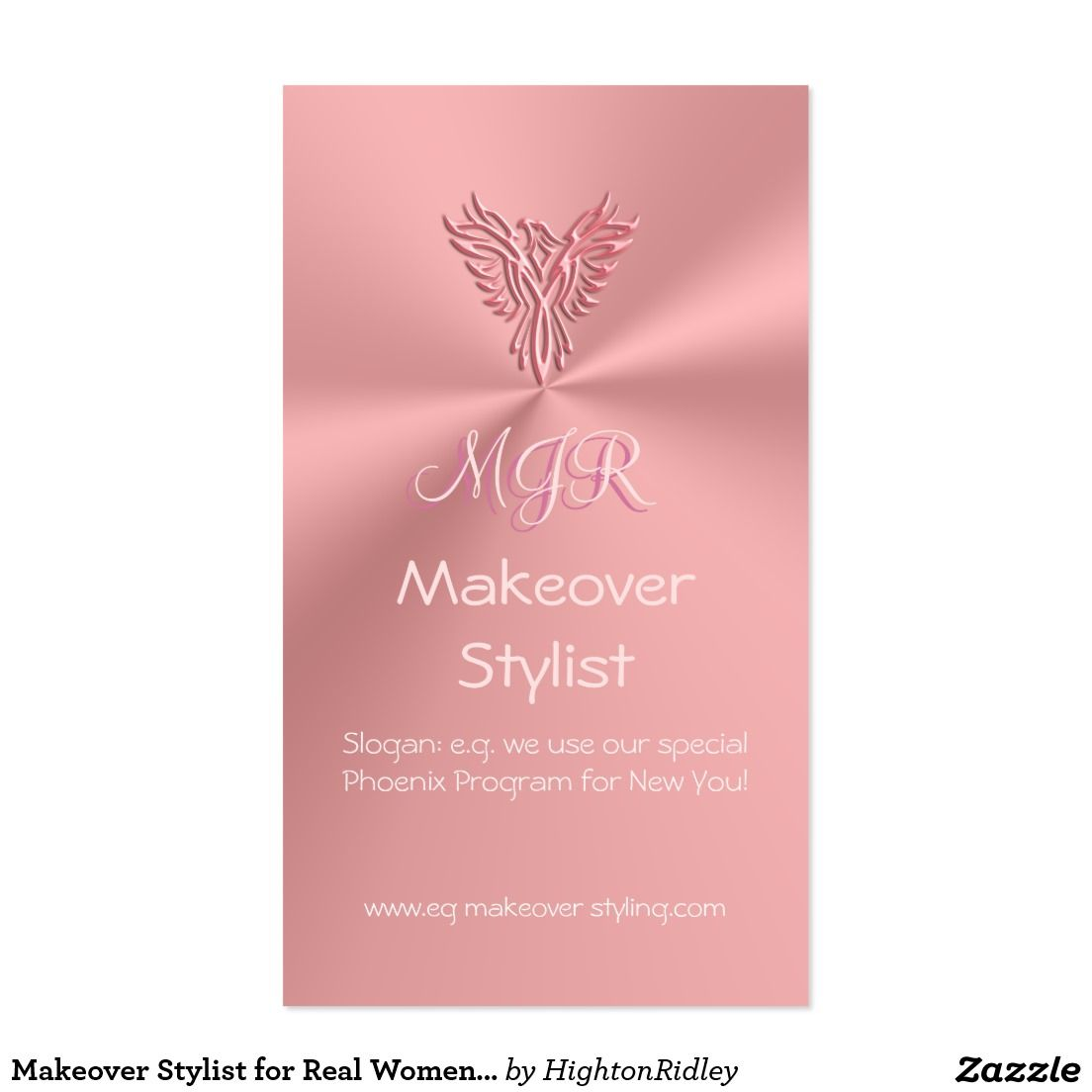 Makeover Stylist for Real Women, Phoenix Program Business Card ...
