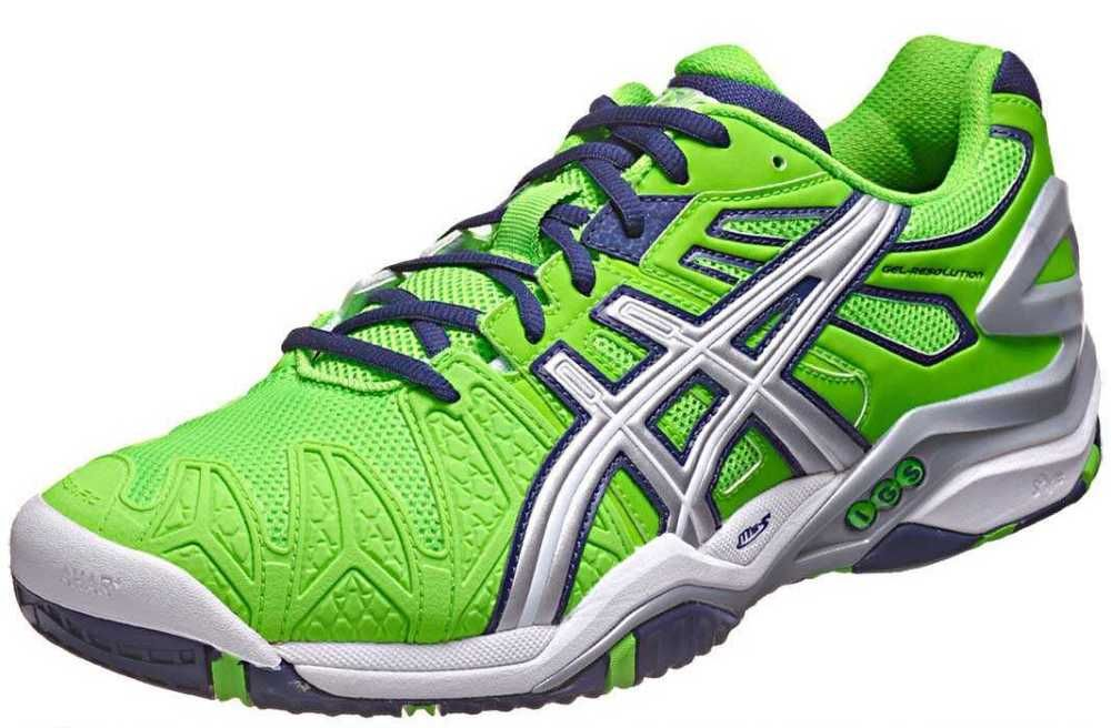 The First Statement The Asics Gel Resolution 5 Makes Is Its Cushioning System Which Is Complemented By A Best Mens Tennis Shoes Tennis Shoes Mens Tennis Shoes