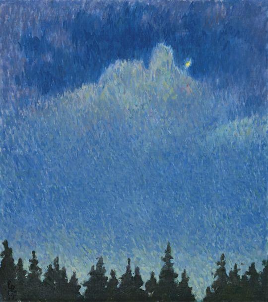 Moonlight - Giovanni Giacometti 1931