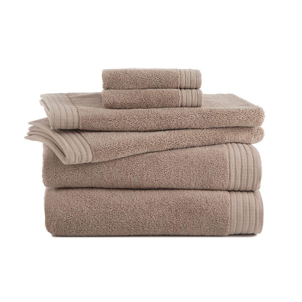 Grand Patrician 6 Piece Turkish Cotton Luxury Bath Towel Set