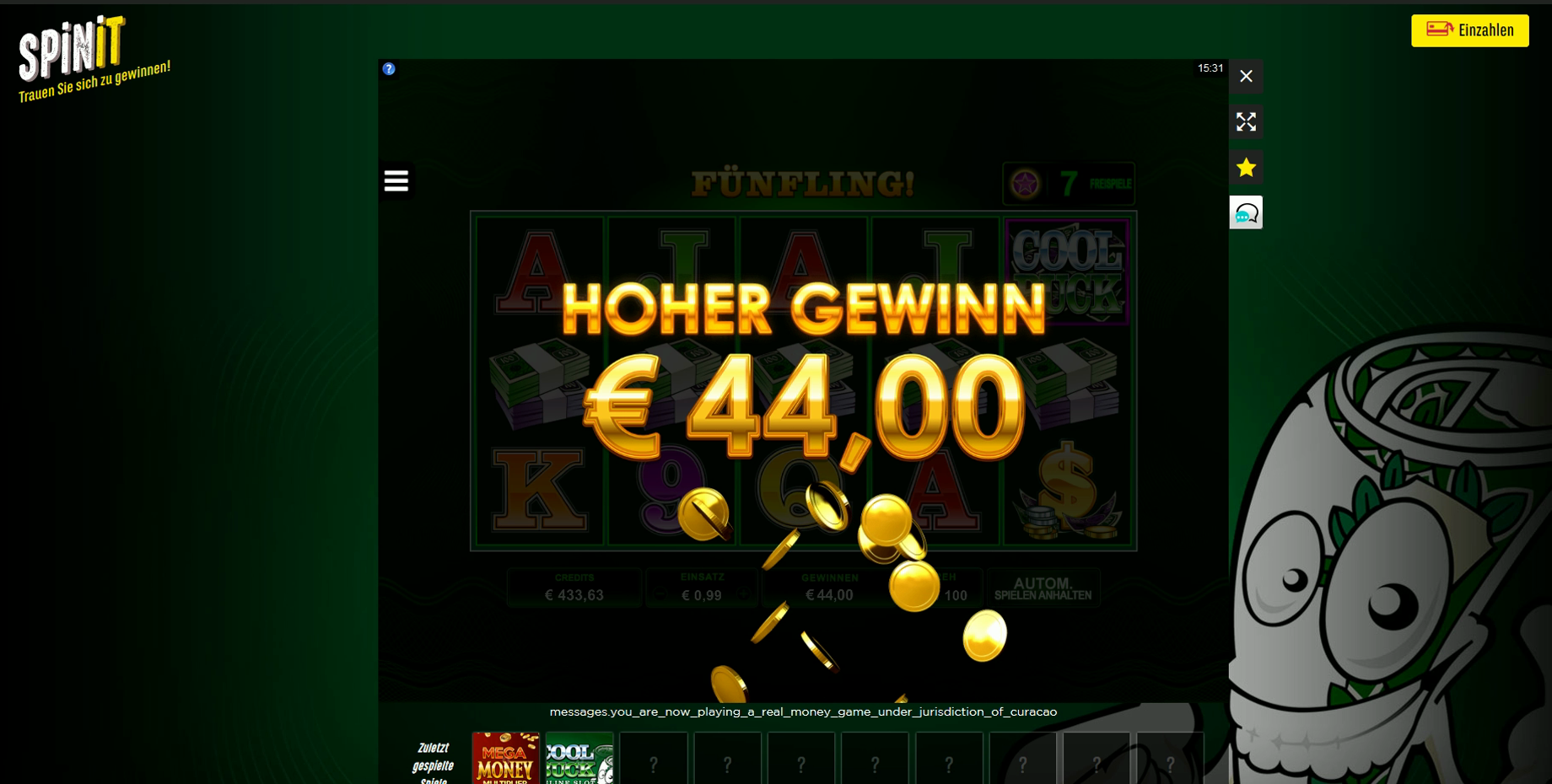 Online Casino Casinotester