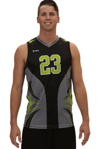 Ace Men s (R024MSV) Sleeveless Sublimated Volleyball Jersey Voleibol  Uniformes adba2aee0d0dc