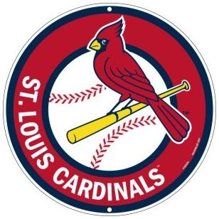 St Louis Cardinals Round Baseball Logo Png 308 308 Pixels St Louis Cardinals Cardinals Baseball St Louis Cardinals Baseball