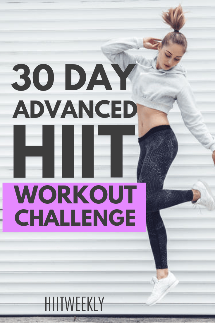 Photo of 30 Day Workout Challenge Advanced HIIT – HIITWEEKLY