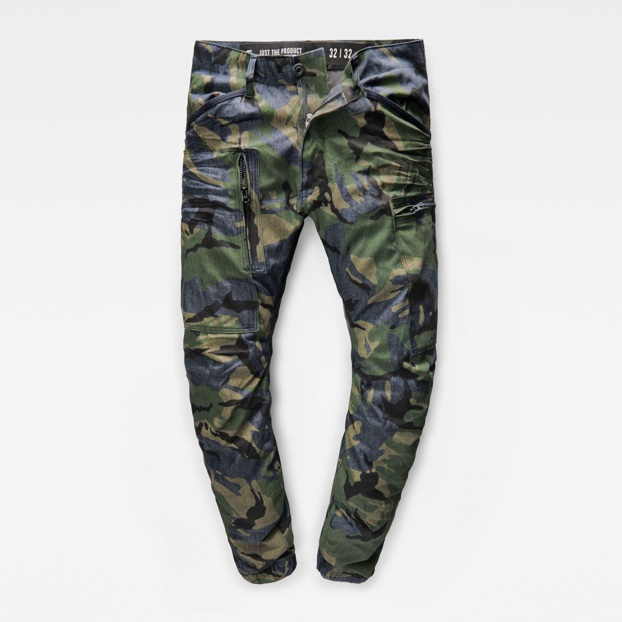 Powel 3D Tapered Cuffed Pants | G star raw jeans, Raw