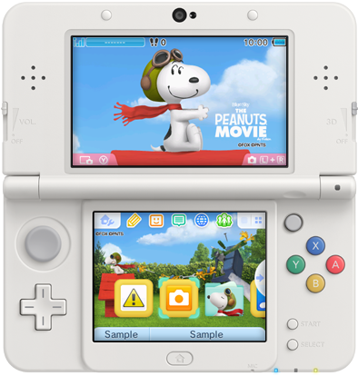 Japan - This week's 3DS themes