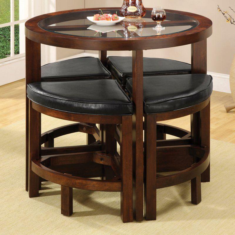Jinie 5 Piece Counter Height Pub Table Set | Küche und esszimmer ...
