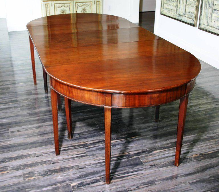 Georgian Superb Original Late 18th Century Dining Table For Sale
