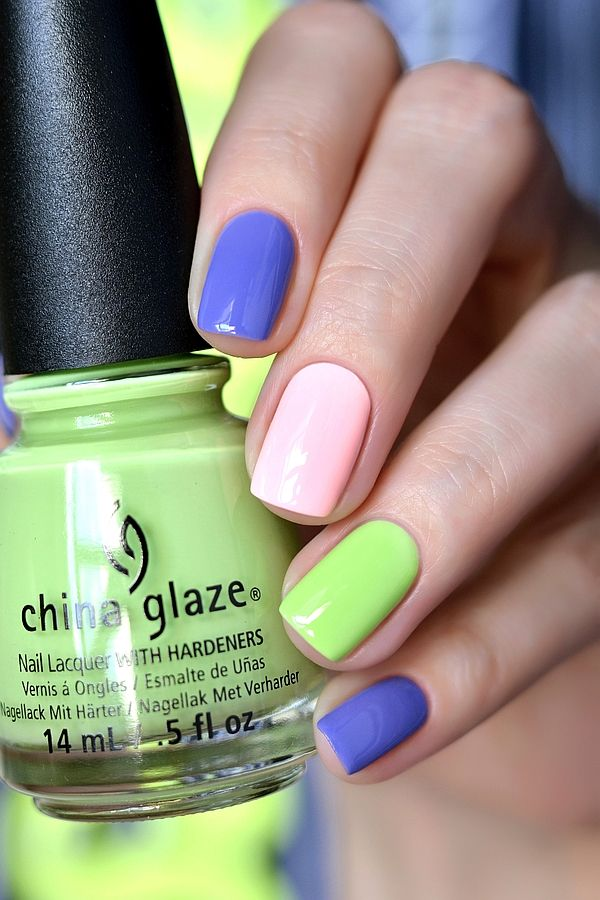 China Glaze — «Be More Pacific», «What A Pansy», «Spring In My Step ...