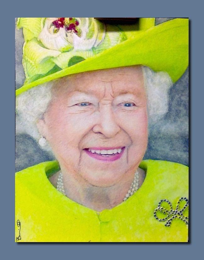 Bruce T Harvill Portraits Queen Elizabeth Queen