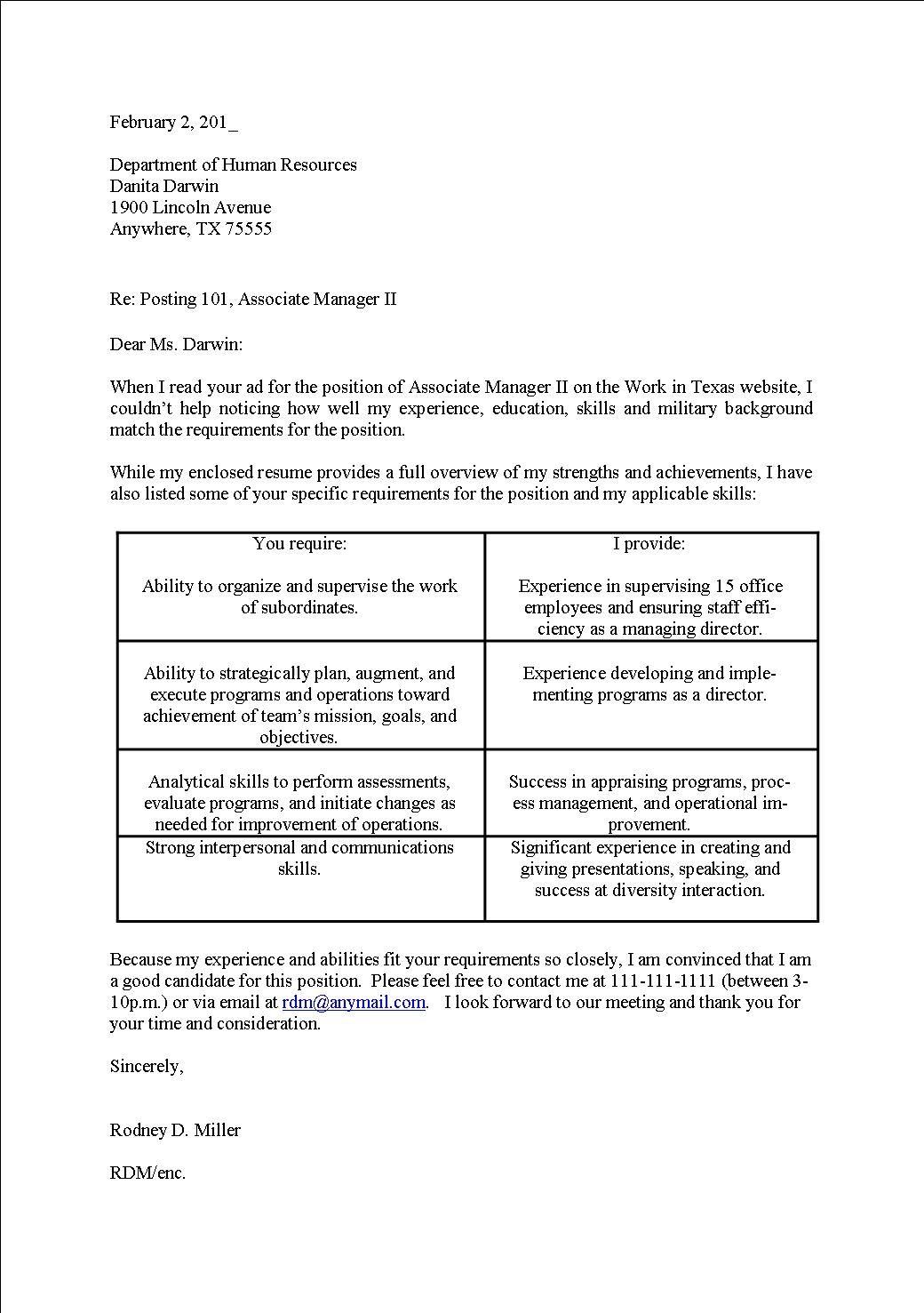 Cover Letter Resume How Write Professional Templates Genius