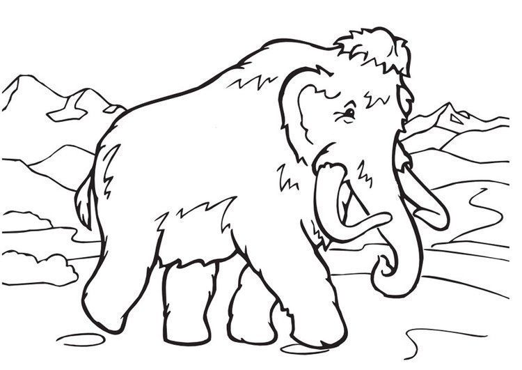 Mamut Para Colorear Coloring Pages Coloring Pictures Art Clipart