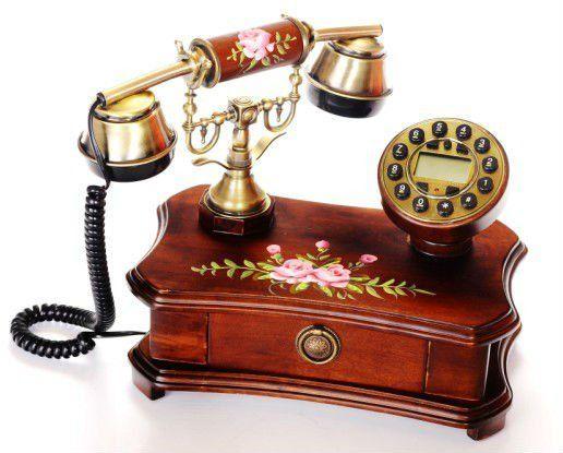 Vintage Decorative Corded Telephone