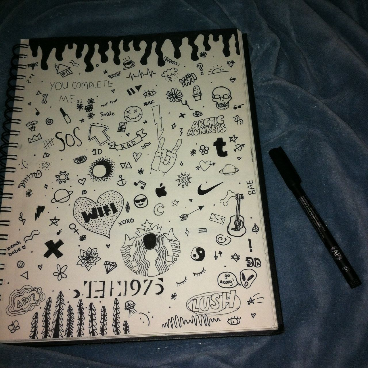 cute notebook doodles tumblr - Google Search   Doodles ...