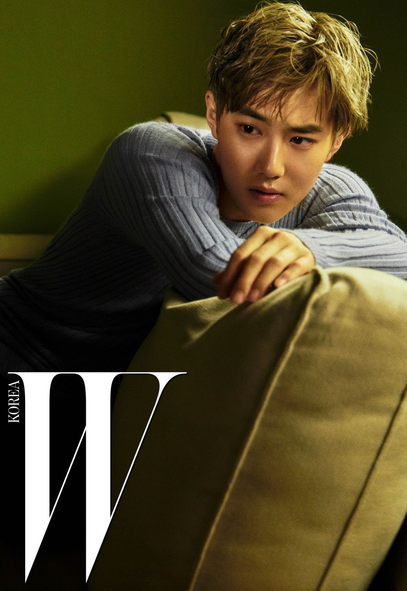 Suho (수호) for W Korea - Photograph by Kim Hee June