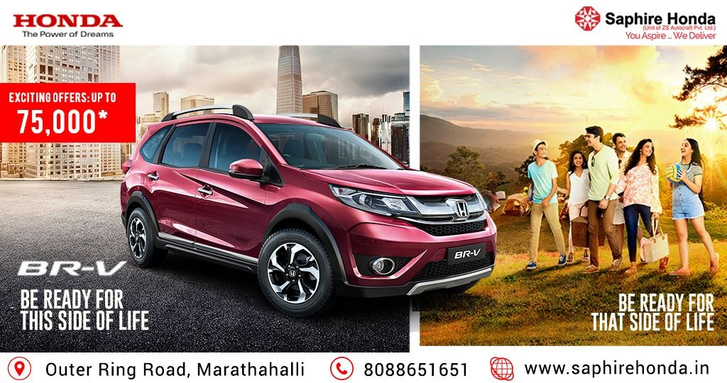 The Unforgettable Moments Are Just Waiting To Be Captured Head Out Make Them Yours In The Honda Br V Bereadyvehicle Visit Or Honda City Honda Honda Cars
