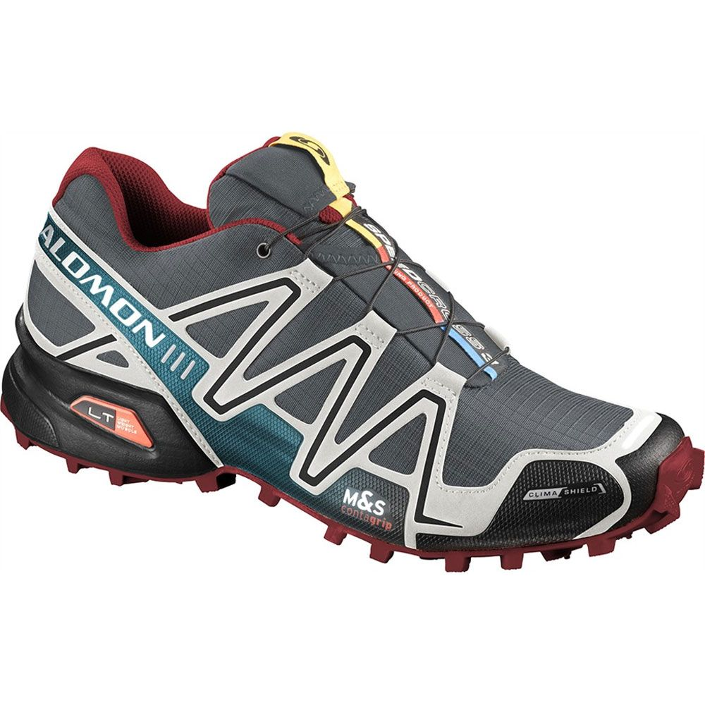 Salomon Speedcross 3 CS Shoe (Men's) - Trail Running Shoes - Rock/Creek