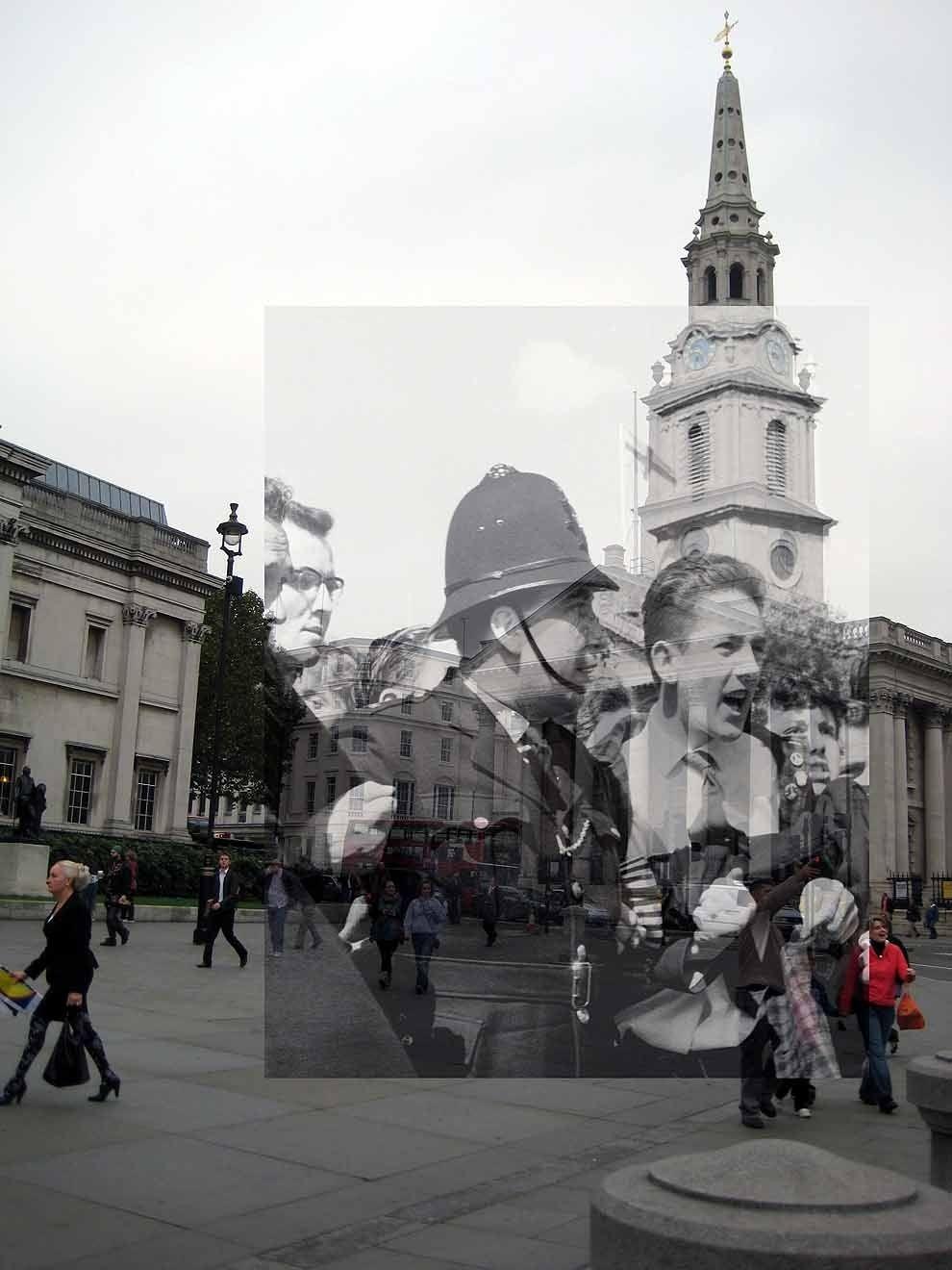 18 fotos del antiguo Londres, mezcladas con el actual.