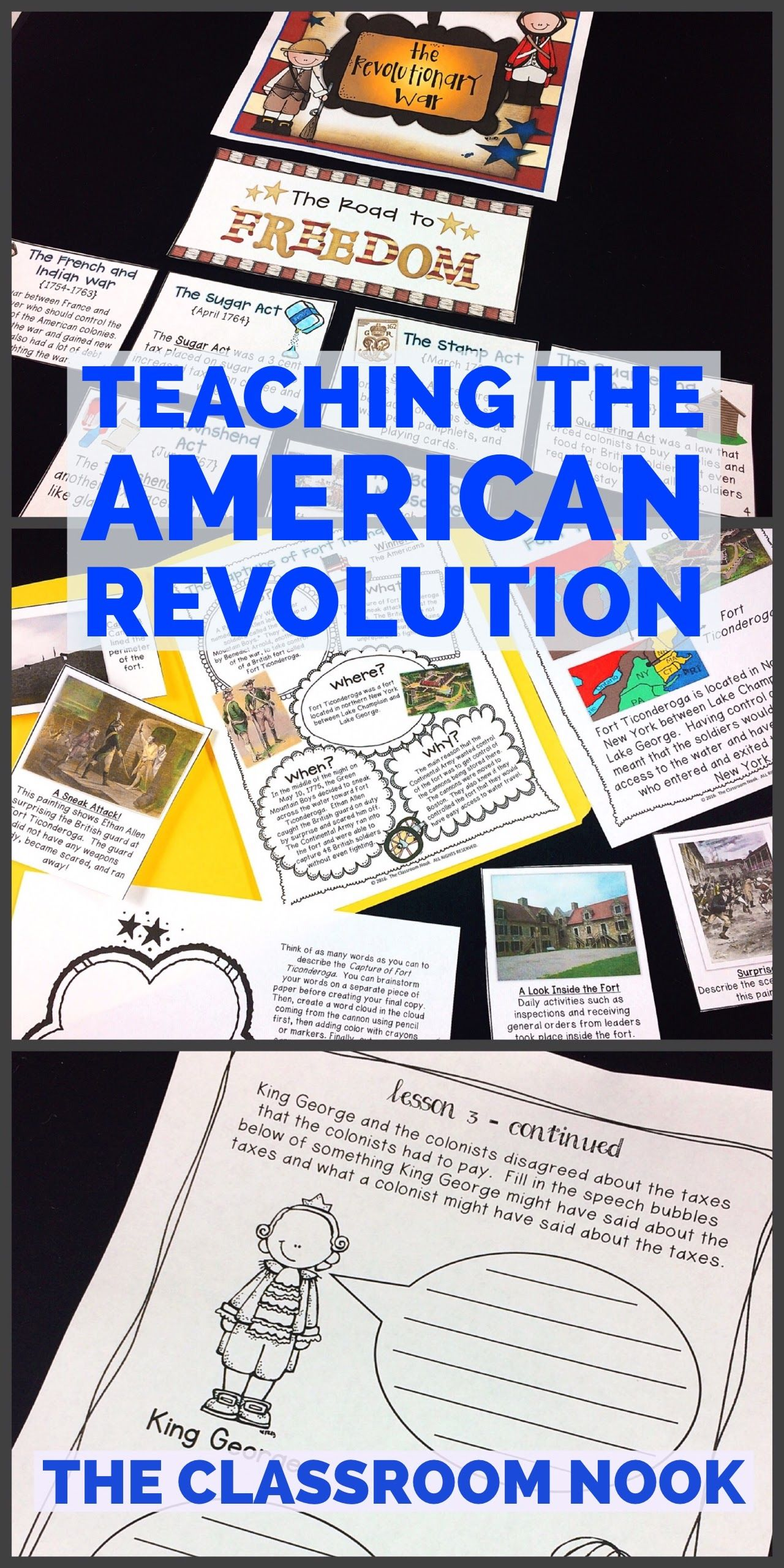 Teach The American Revolution With Engaging Activities