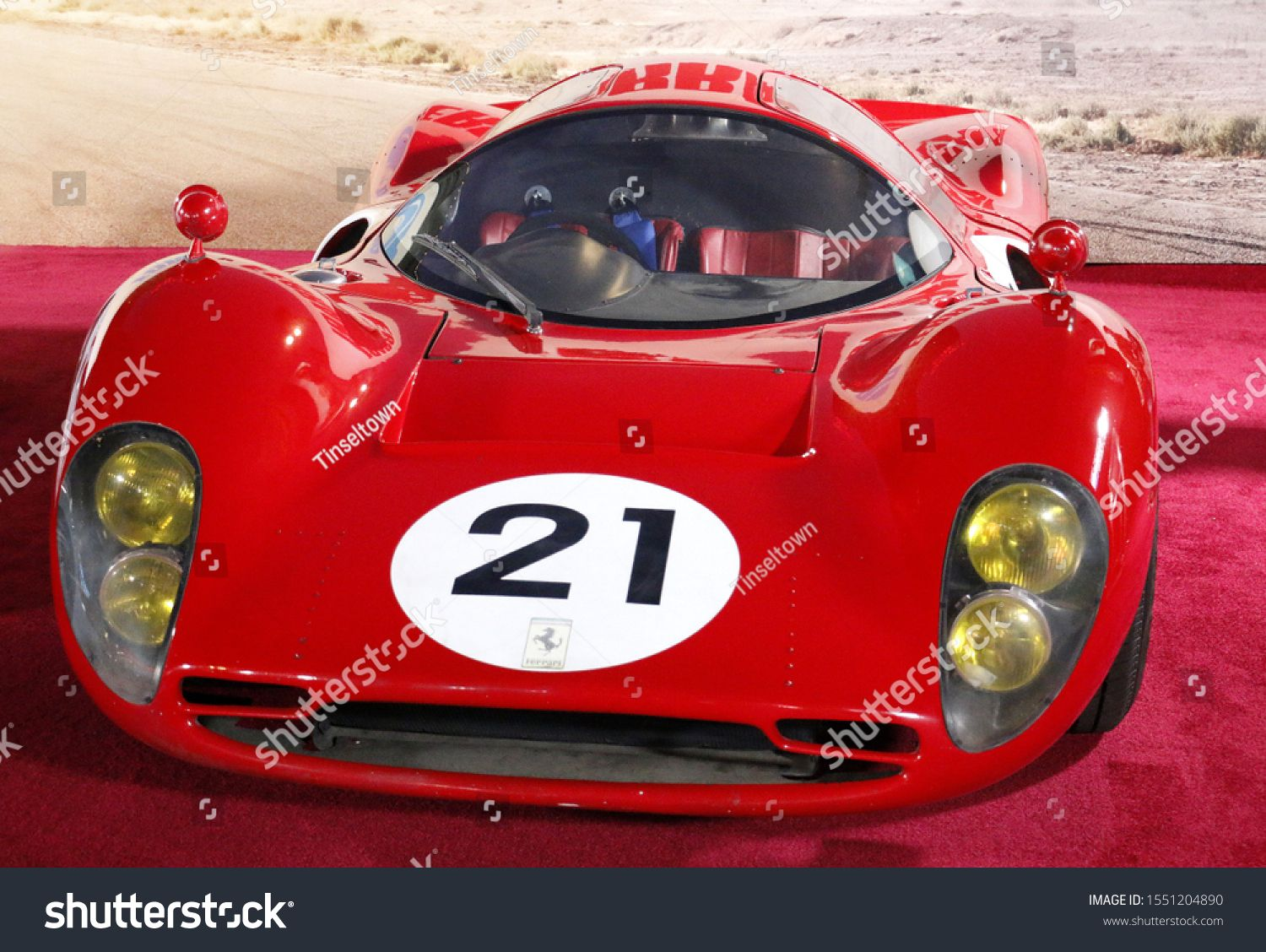 1966 Ferrari P3 At The Los Angeles Premiere Of Ford V Ferrari Held At The Tcl Chinese Theatre In Hollywood Usa On November 4 2019 Ad Affiliate Ferrari