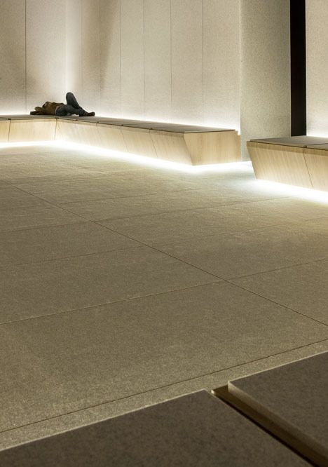 The Silence Room At Selfridges Alex Cochrane Architects Architect Light Architecture Architecture Design
