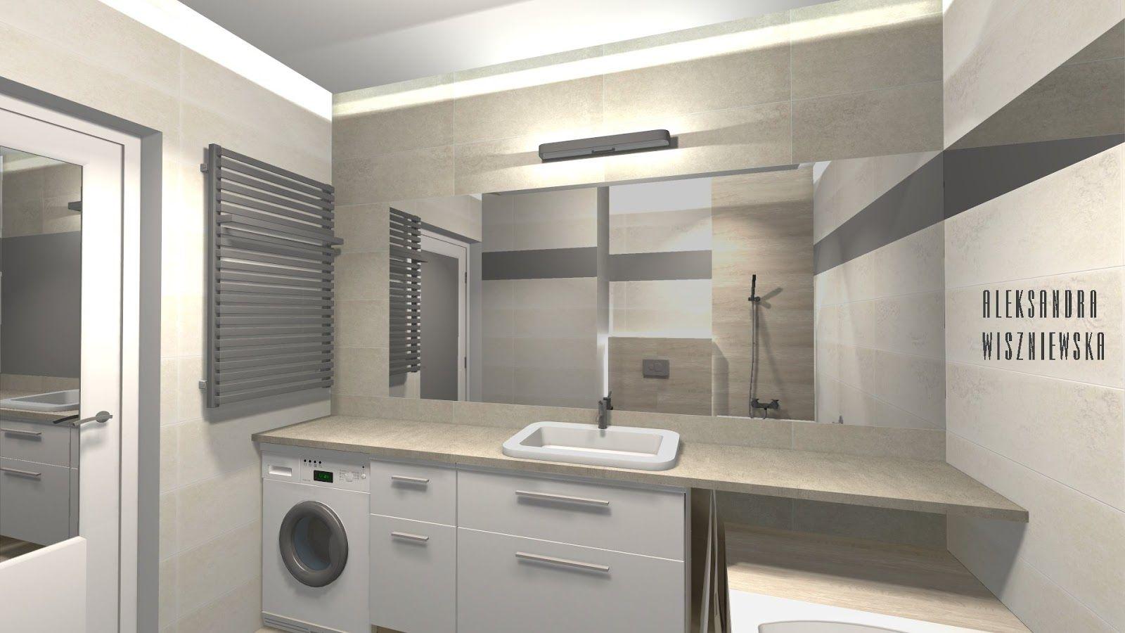 Projekty łazienek Wizualizacje Paradyż Meltemimelte By My