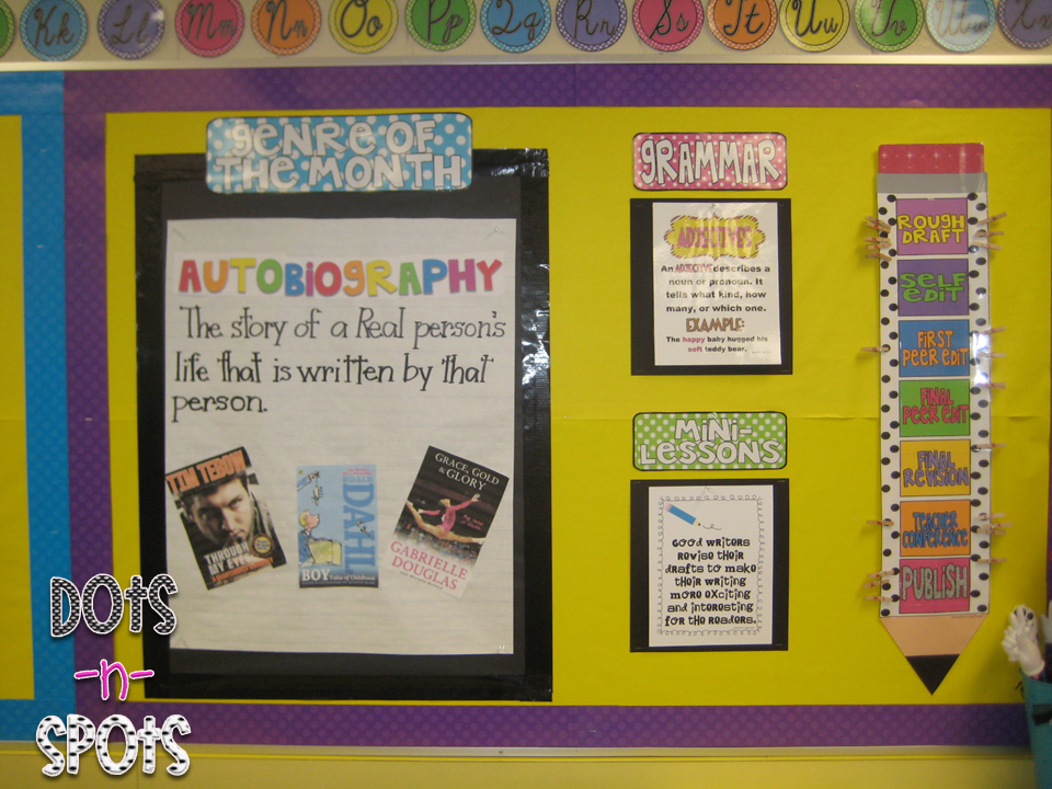 Great Focus Wall Idea! Clever Way to Track Students\' Writing ...
