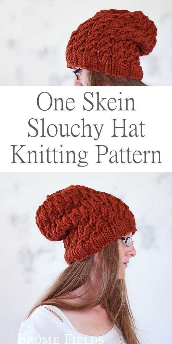 One Skein Hat Knitting Pattern : Dignity by Brome Fields | Craft ...