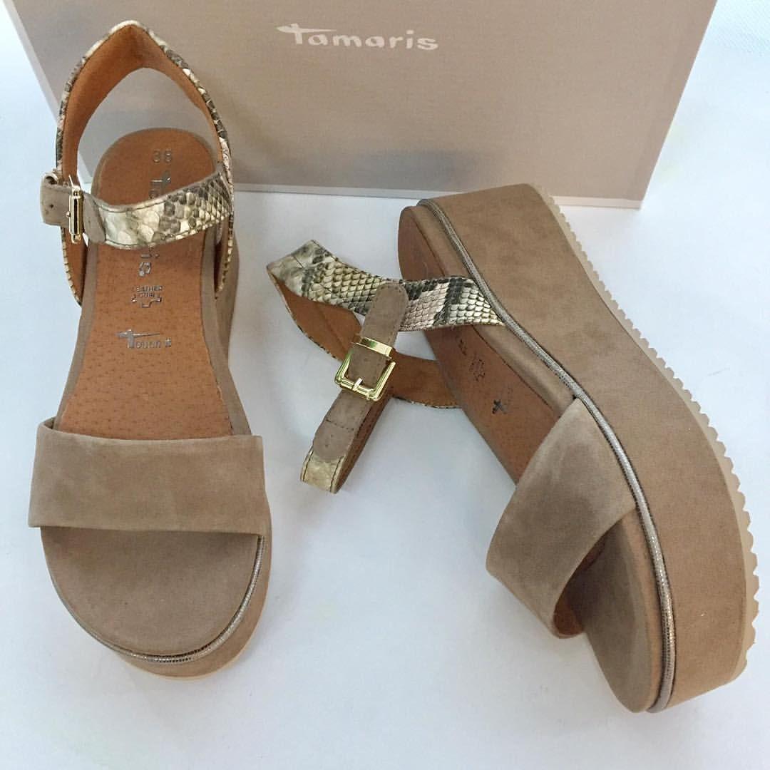Großbritannien Großhandelspreis Super Rabatt damenschuhe super bequeme plateau sandalen von tamaris ...