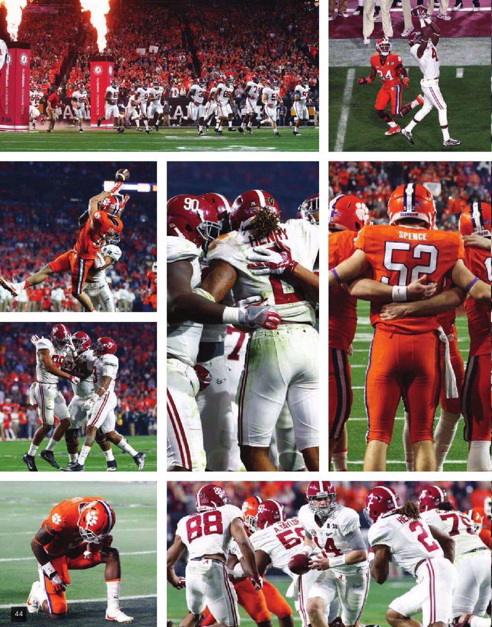 National Championship Game photos Alabama vs Clemson